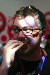 Aaron Hillis Eats a Complimentary Potato Chip