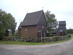 Stavkyrka in Sandhult, Sweden