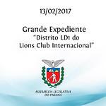 Grande Expediente - Lions Club Internacional 13/02/2017