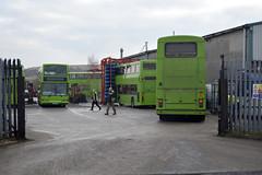 Brightbus garage (parkgateparker) Tags: brightbus northanston washer