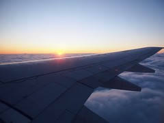 midnight sun flying over Reykjavik, Iceland (dan tsai) Tags: olympusomdem5 midnight midnightsun omd em5 sunset reykjavik window olympus clouds airplane iceland olympusmzuikodigitaled1240mmf28pro