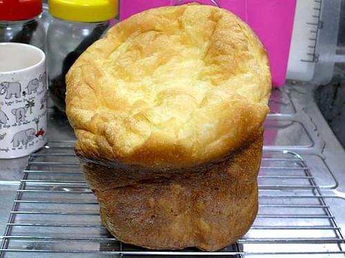 ホームベーカリーで2010年4月11日に作ったパン