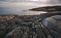 Rocky shoreline, Frya (kkorsan) Tags: longexposure seascape norway norge shoreline srtrndelag frya titran 2011 hoyandx400 sletringen mygearandme ringexcellence