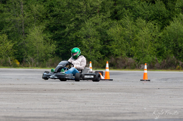 JTP driving PSI's kart at Packwood 2.JPG