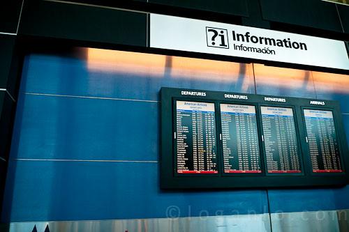 John F. Kennedy Airport, NY.