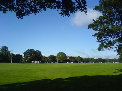 Leith Links with its well maintained lawn