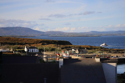 Looking out across to Schull