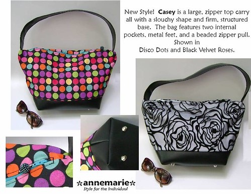 The Casey bag by Anne Marie Beard