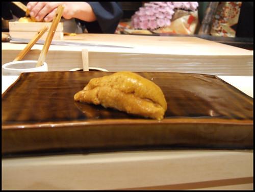 Urasawa (Los Angeles) - Uni sushi