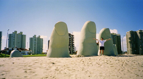 "Hand In The Sand, Punta Del Este, Uruguay | <a href=""http://www.flickr.com/photos/59207482@N07/1728294868"">View at Flickr</a>"