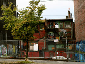 Critics argue that the renovations are meant to beautify the squalor of the Downtown Eastside.