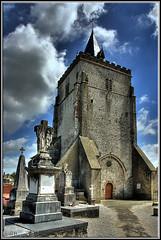 L'église de Saint-Tricat