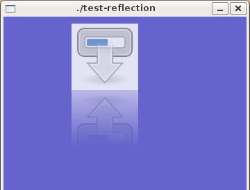 Clutter reflection effect