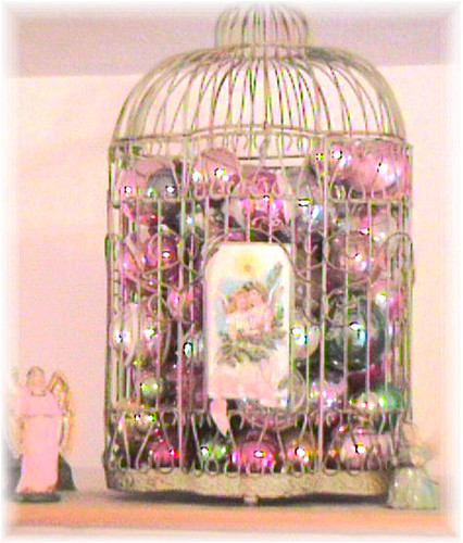 Birdcage for Christmas