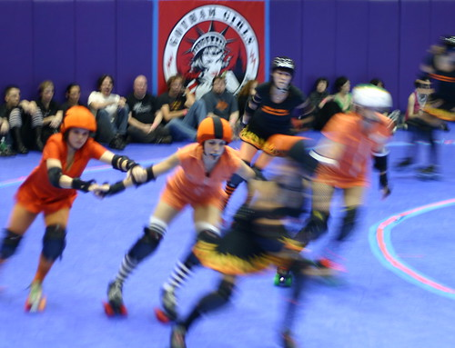 Gotham Girls Roller Derby Match