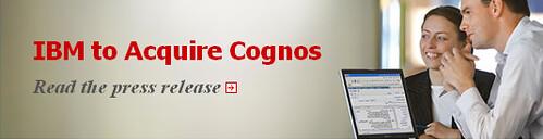 IBM compra Cognos
