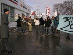 Climate Comedy (nickaroundtheworld) Tags: march rally protest fredericton change environment climatechange climate globalwarming kyotoprotocol internationaldayofaction climatechangedayofaction internationaldayofactiononclimatechange