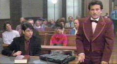 Vinny (Joe Pesci) has his day in court