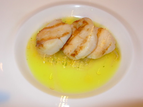 Washington Food - Grilled Atalntic Day Boat Scallops - Cityzen