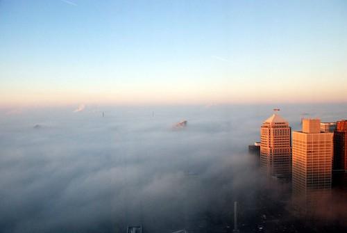 Foggy Detroit II
