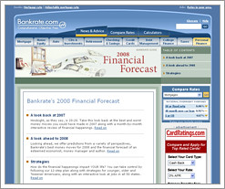 Bankrate predicts what's on the personal financial horizon for 2008 by QuizzleTown