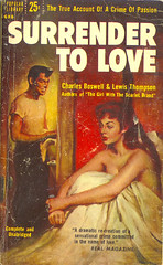 Surrender to Love (Popular Library 688) 1955 AUTHOR:  Charles Boswell; Lewis Thompson ARTIST: (unknown) by Hang Fire Books