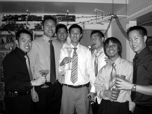The Boys (B&W)