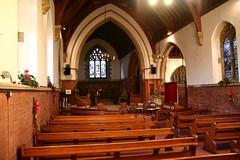 Wychbold, Worcestershire, St Mary de Wyche. (Tudor Barlow) Tags: winter england churches worcestershire parishchurch churchinteriors tamron1750 wychbold