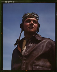 The kind of man Hitler wishes we didn't have. A bomber pilot, captain in a bombardment squadron, just before he climbs aboard his huge YN-17 bombing plane  (LOC) (The Library of Congress) Tags: portrait soldier virginia war military wwii goggles may tie b17 worldwarii captain ww2 warrior libraryofcongress 1942 boeing flyingfortress pilot leatherjacket necktie bravery worldwar2 wartime airman usaaf b17flyingfortress may1942 bomberpilot langleyairforcebase xmlns:dc=httppurlorgdcelements11 dc:identifier=httphdllocgovlocpnpfsac1a35093 alfredtpalmer yb17 langleyfield yn17 alfredpalmer boeingyb17