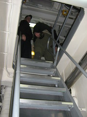 Lots of going up and down ladders (stepol) Tags: stairs jan norfolk navy destroyer va scouts ladder campout 2008 arleighburke navalbase ussmcfaul ddg74 troop737 missiledestroyer