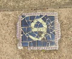9 (GeoWombats) Tags: mosaic nine january 9 number driveway 2008 rapidcreek geowombats