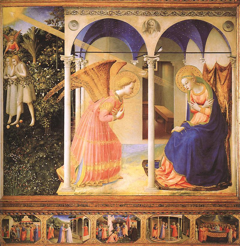 ANGELICO, Fra Annunciation, 1430-32