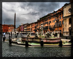 Piazza Navona (klausthebest) Tags: sky italy cloud house rome colour roma building fountain buildings square casa italia nuvole colore cielo piazza fontana piazzanavona italians lazio nubi wonderworld blueribbonwinner supershot abitazione fineartphotos 25faves navonasquare platinumphoto anawesomeshot aplusphoto flickrplatinum holidaysvacanzeurlaub irresistiblebeauty superbmasterpiece diamondclassphotographer excellentphotographerawards onlythebestare theperfectphotographer goldstaraward