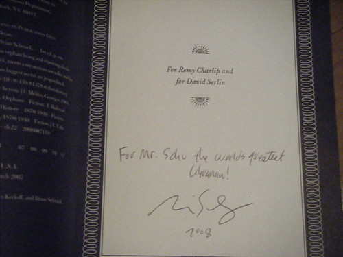 My signed copy: :)