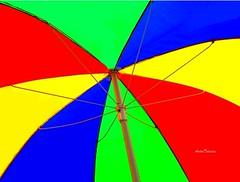 The Colorful Summer (AndrTeixeira) Tags: pictures summer brazil sun verde sol praia colors brasil paraty canon cores colorful vermelho vero soe colorido guardasol camposdosgoytacazes impressedbeauty diamondclassphotographer andrteixeira summerbrasil xlord