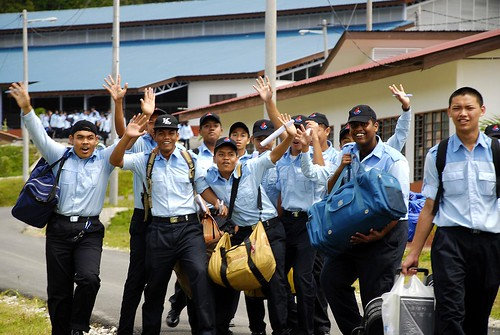 Khidmat Negara Malaysia Trainees