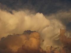 Nubes tormentosas (.pramundo) Tags: sky orange cloud storm color argentina weather buenosaires nimbus cielo cumulus naranja nube clima tormeta carloscasares formascelestiales yotambinteagregoetiquetas