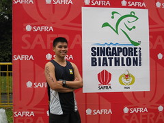 Singapore Biathlon 2008 Finisher!