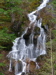 Upper Newhalem waterfall