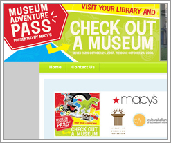 Free museum passes - compliments of your local library & Macy's! by whatsthediffblog, on Flickr