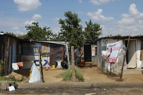 shanty owners waiting their turn for government housing