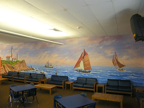 Cafeteria Mural - View 2