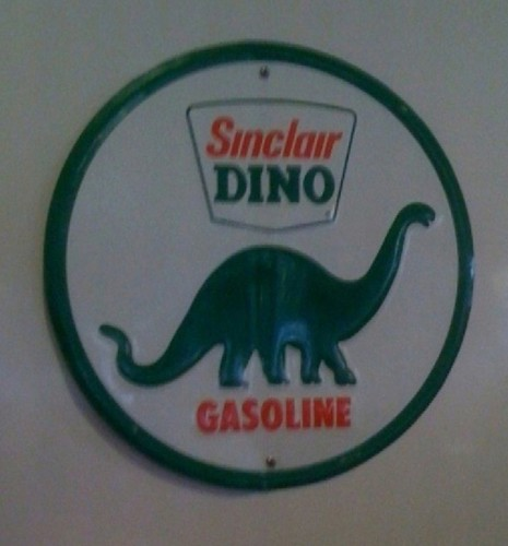 Dinosaur Equals Gas
