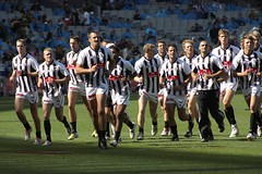Collingwood FC (WilliamBullimore) Tags: sport football collingwood stadium crowd australian australia melbourne ground rules victoria cricket arena anthony aussie magpies rocca league mcg afl novideo