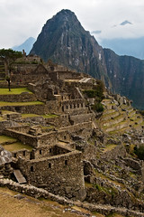 Machu Picchu Side View