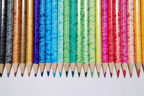 Colour Pencils by Imesh.