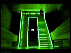 green stairs (sediama (break)) Tags: stairs germany essen treppe staircase remkoolhaas grn staircases zollverein treppenhaus flickrsbest colorphotoaward sediama bysediamaallrightsreserved