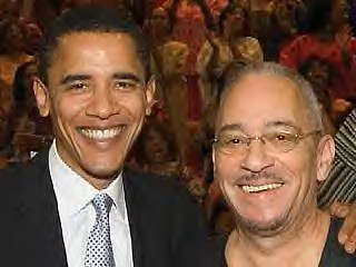 Senator Barack Obama and Rev. Jeremiah Wright. The corporate media and the racists have attempted to use the black church against the leading presidential candidate. by Pan-African News Wire File Photos.