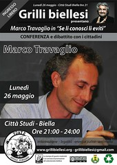 Grilli biellesi - Conferenza con Marco Travagl...