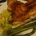 Chicken, leek and asparagus